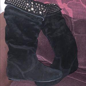 Gianni Bini Knee Boots Women's